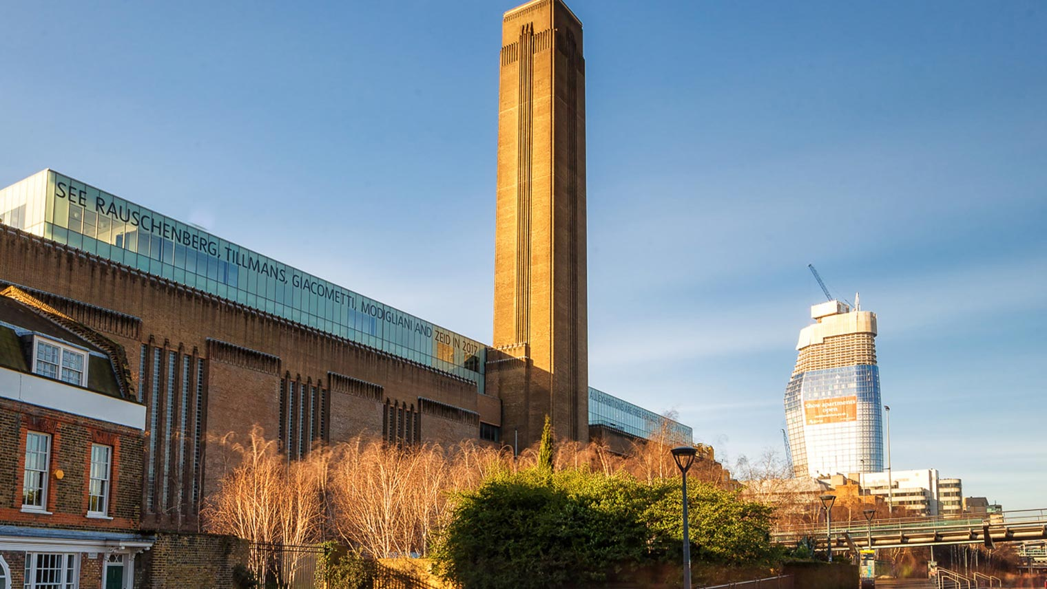 Tate Modern and One Blackfriars London