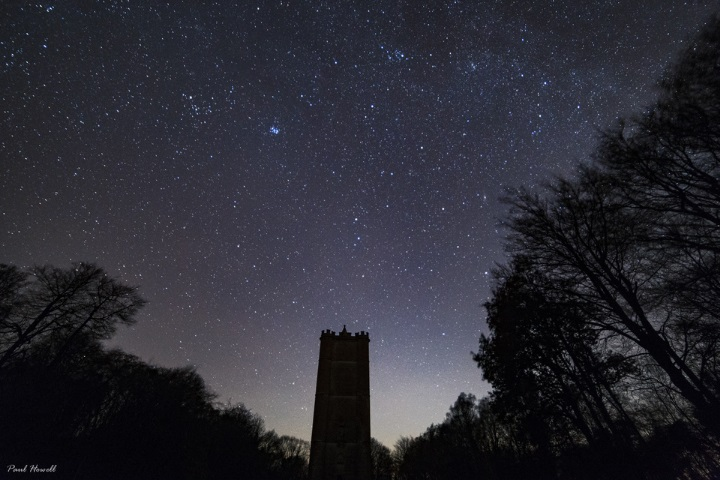 Astrophotograph from Cranborne Chase taken by Paul Howell