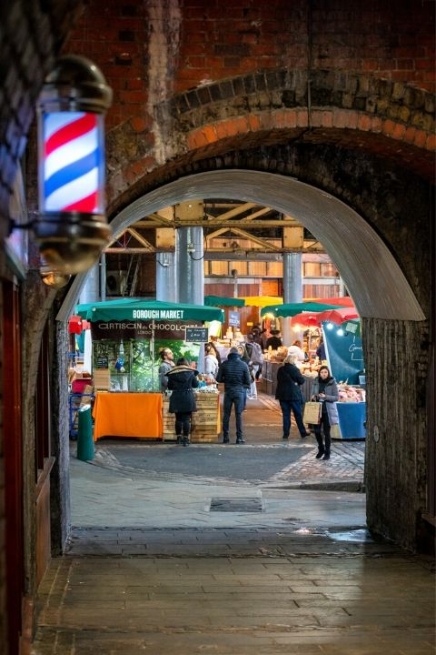 Travel to Borough Market with SWR