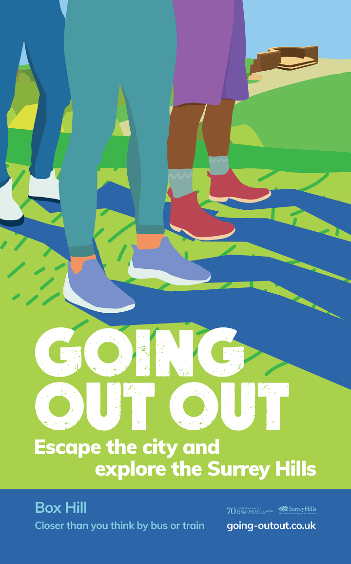 Poster for Going Out Out Campaign