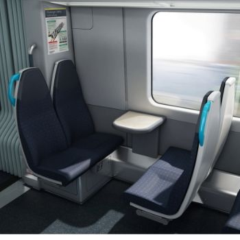 Inside the new 701 trains - seating arrangement | South Western Railway