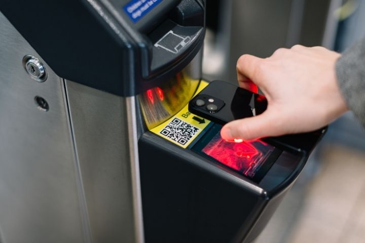 Using contactless ticket options can make your journey safer