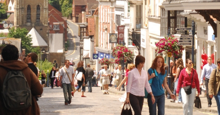 Shopping in Guildford