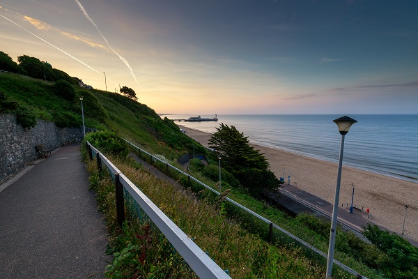 Bournemouth Beach at Sunset