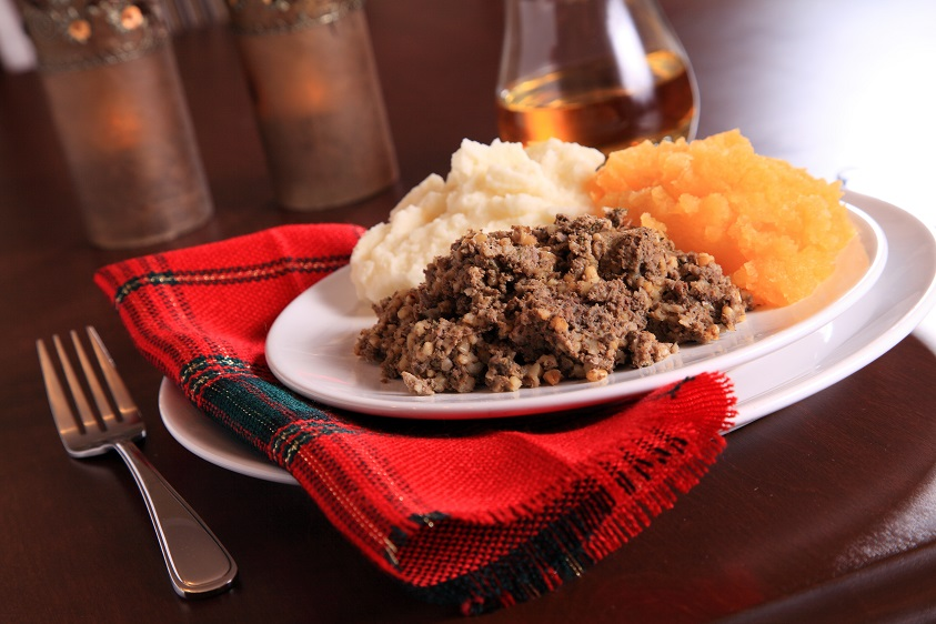 haggis neeps and tatties - celebrate Burns night with South Western Railway