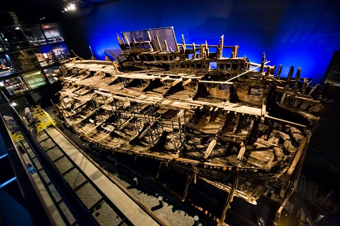 Mary Rose Museum Interior