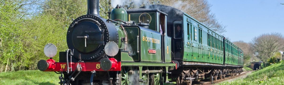 Visit the Isle of Wight Steam Railway with SWR