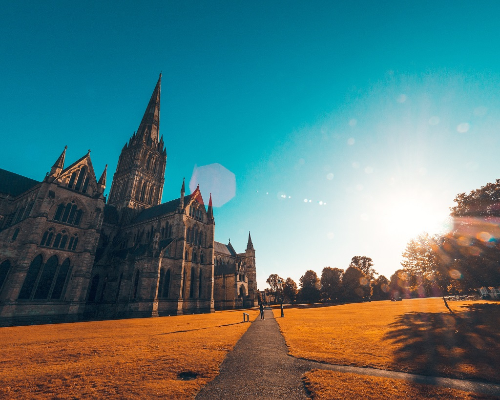 Salisbury Cathedral taken at Sunrise
