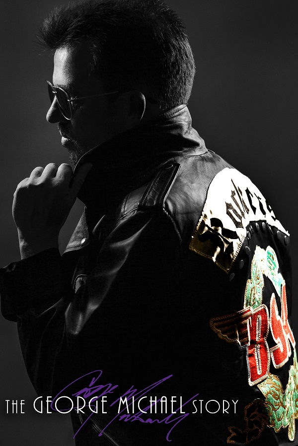 Poster of Steve Mitchell as George Michael