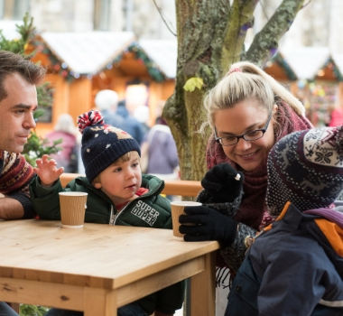Winchester Ice Skating | Travel to Winchester Christmas Market with South Western Railway