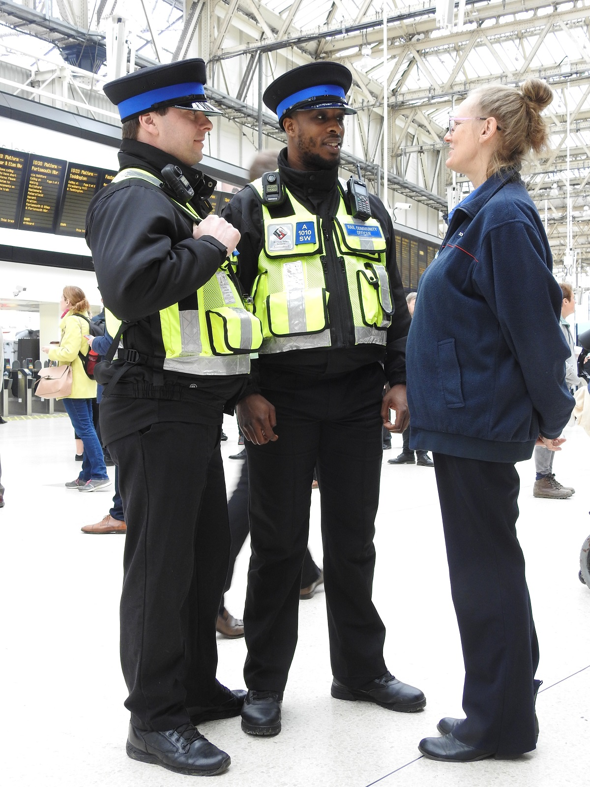 Station Watch Scheme launched by South Western Railway