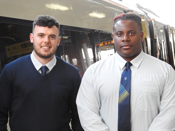 Former Princes Trust trainees start their careers with South Western Railway
