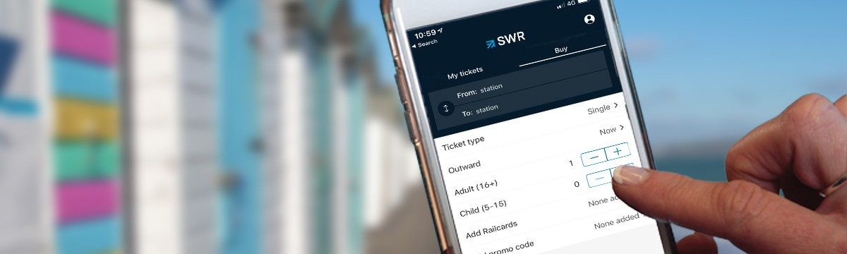 eTickets - Get mobile train tickets for your journey with South Western Railway