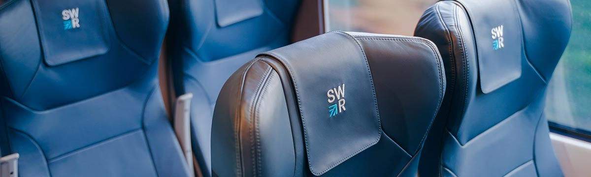 First Class genuine leather seating